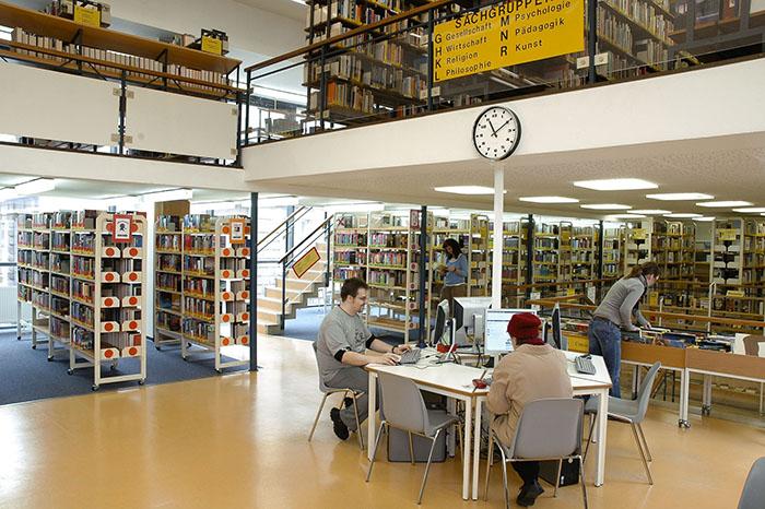 Stadtbibliothek Wismar - Erwachsenenbibliothek