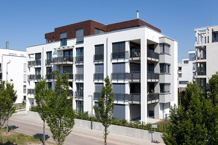 Baufeld 1 rheinufer s d leben und wohnen am wasser for Stadthaus bauen